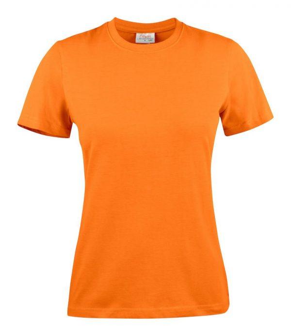 Heavy T-Shirt dames 2264014 oranje