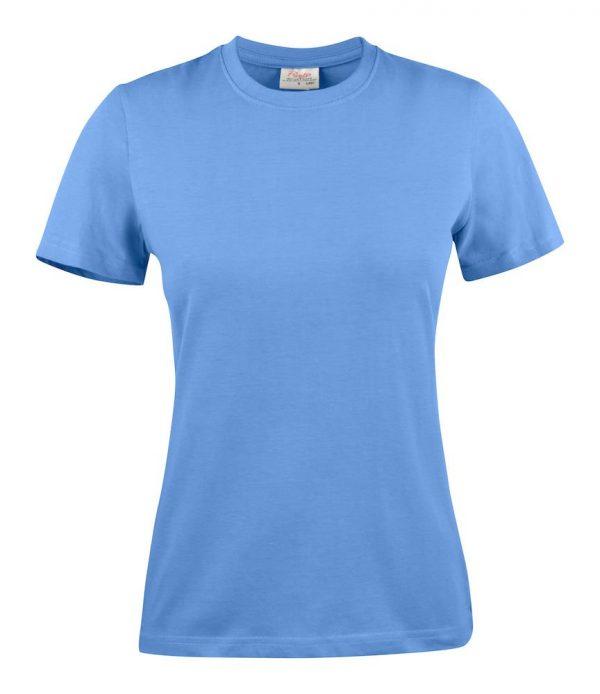 Heavy T-Shirt dames 2264014 hemels blauw