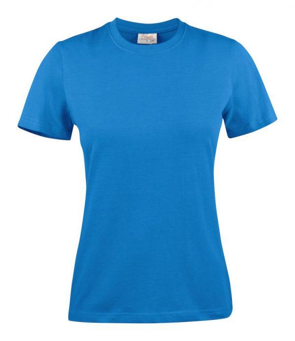 Heavy T-Shirt dames 2264014 oceaanblauw