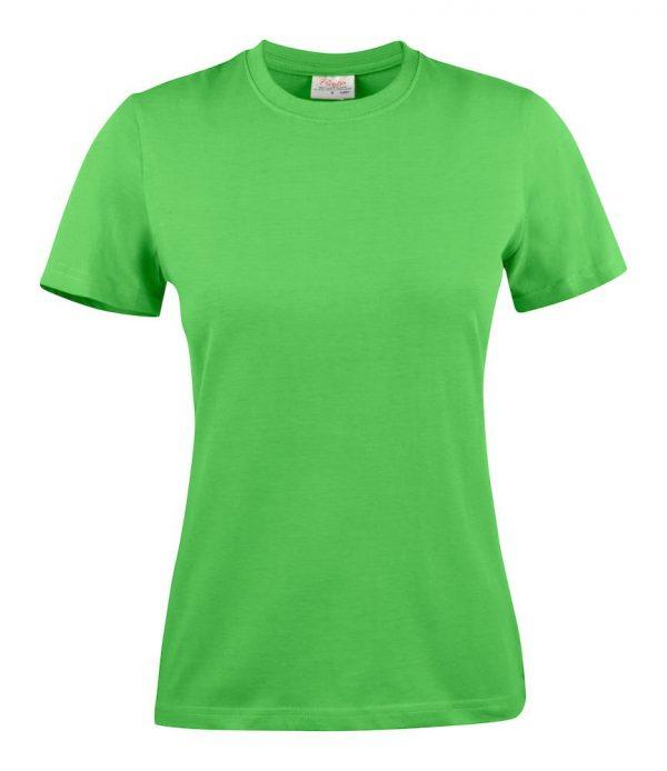 Heavy T-Shirt dames 2264014 limoengroen