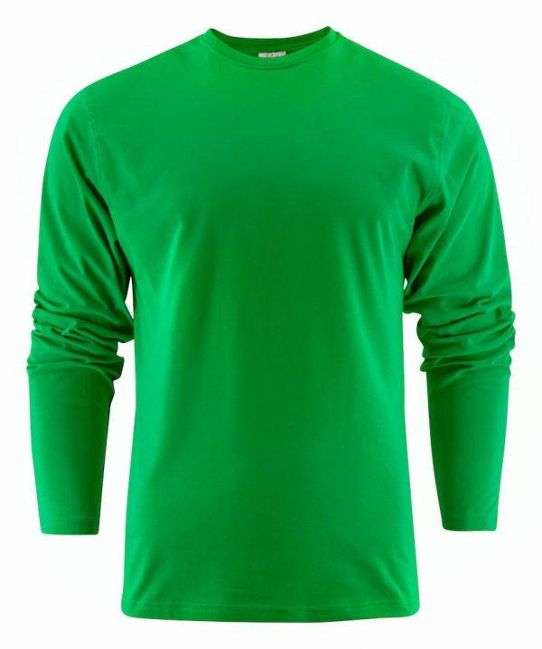 Heavy T-Shirt met lange mouwen heren (unisex) 2264016 fris groen