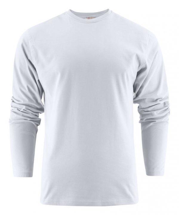 Heavy T-Shirt met lange mouwen heren (unisex) 2264016 wit