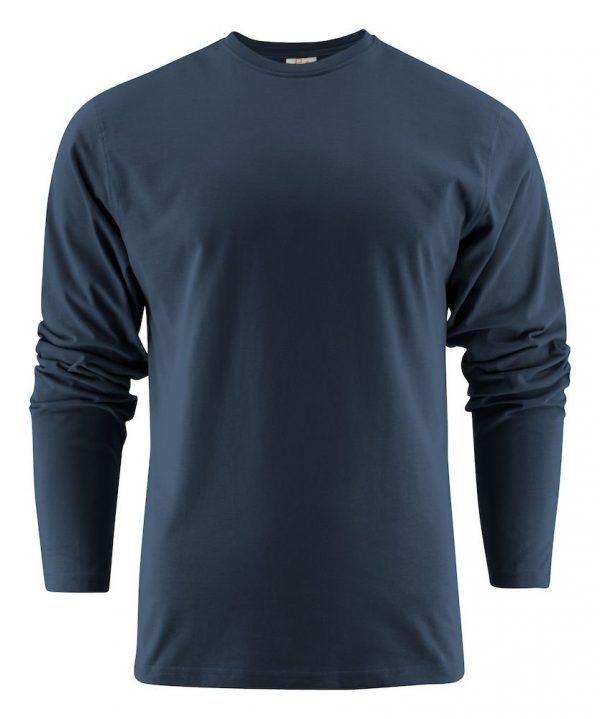 Heavy T-Shirt met lange mouwen heren (unisex) 2264016 marine navy donkerblauw