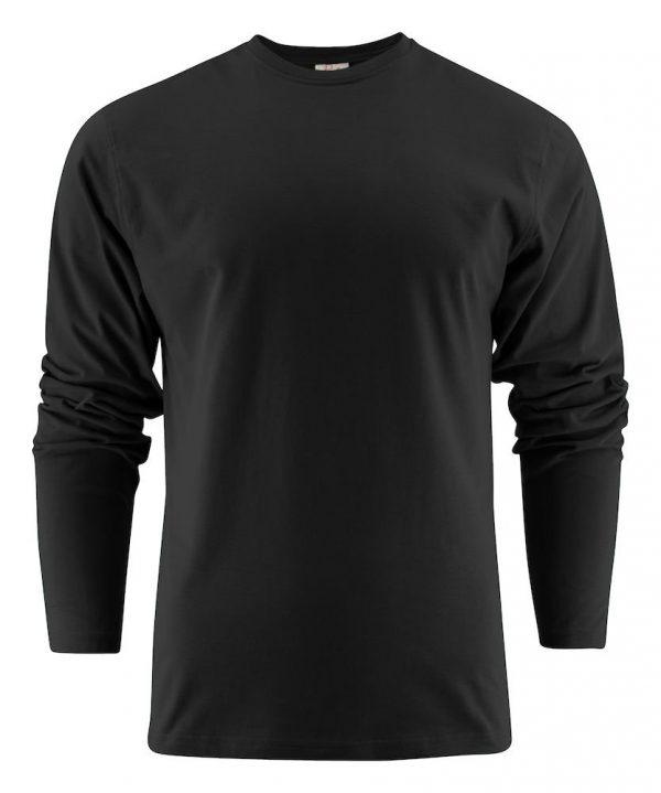 Heavy T-Shirt met lange mouwen heren (unisex) 2264016 zwart