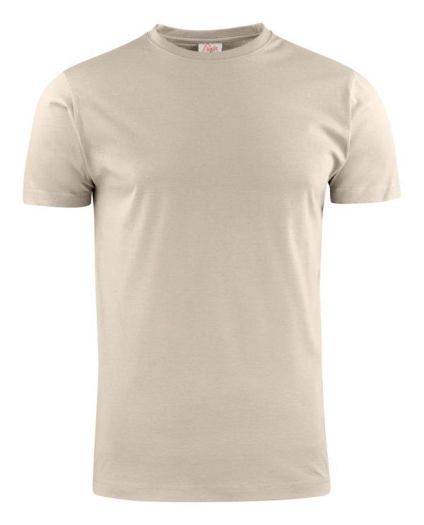 Heavy T-Shirt RSX heren Printer 2264020 zand