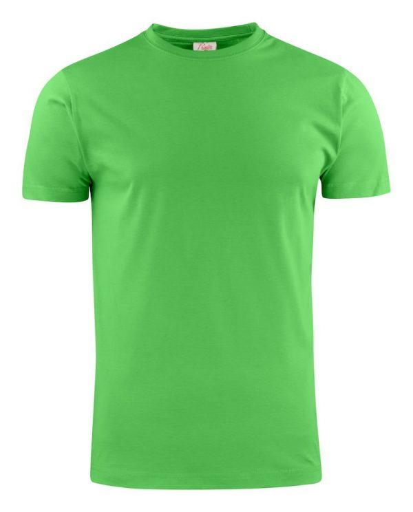 Heavy T-Shirt RSX heren Printer 2264020 limoengroen
