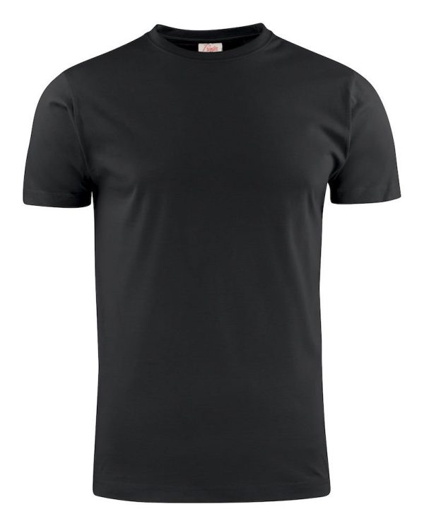 Heavy T-Shirt RSX heren Printer 2264020 zwart
