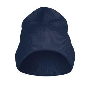 Flexball Beanie/ Muts 2267004 Printer marine donkerblauw navy