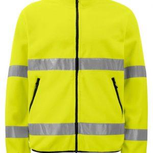 Signalisatie Fleece ProJob 6327 geel/zwart