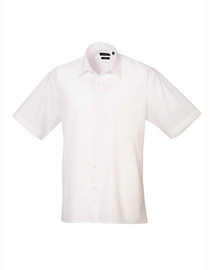 PW202 Overhemd korte mouwen wit