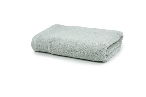 Luxe handdoek zilvergrijs 50 x 100